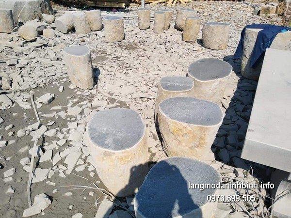 Bàn ghế đá xanh đẹp chất lượng cao giá rẻ thiết kế hiện đại