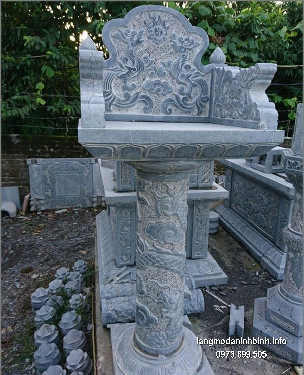 Bàn thờ thiên đá xanh đẹp chất lượng cao giá rẻ thiết kế cao cấp