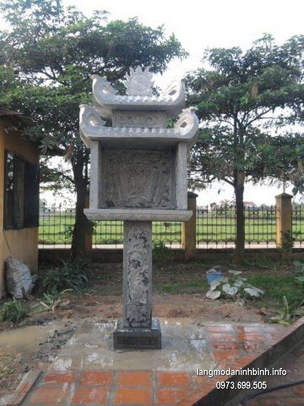 Bàn thờ thiên đá xanh đẹp chất lượng cao giá tốt thiết kế hiện đại
