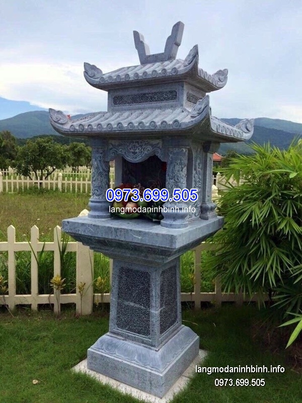 Bàn thờ thiên đá xanh đẹp chất lượng cao giá tốt thiết kế cao cấp