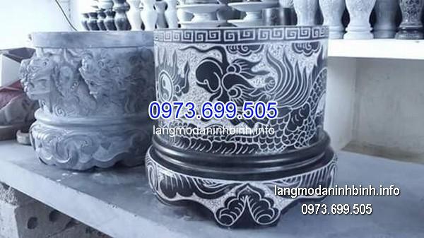 Bát hương đá xanh đẹp nhất chất lượng cao giá rẻ thiết kế hiện đại