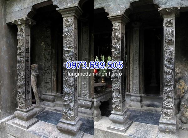 Cột đá rồng tại đền Trần ở trong danh thắng Tràng An, Ninh Bình. Còn có tên gọi khác là Đền Nội Lâm (trong rừng).