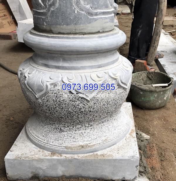 Chân cột bằng đá chuyên dùng cho nhà thờ họ