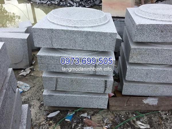 Mẫu chân cột đá cho cột hiên nhà thờ họ
