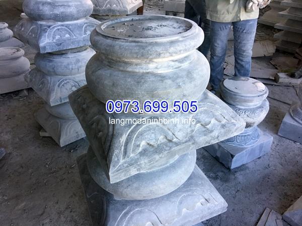 Mẫu chân cột đá tròn cao cấp nhất hiện nay