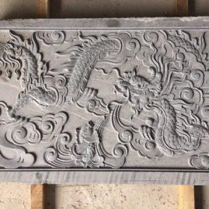 Chiếu rồng bằng đá hoa văn tinh tế giá hợp lý