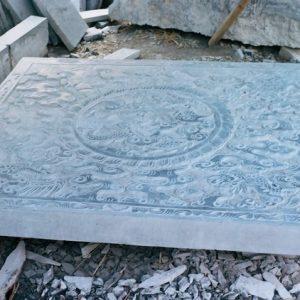 Chiếu rồng bằng đá hoa văn tinh tế giá rẻ