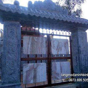 Cổng tam quan đá đẹp chất lượng cao giá rẻ thiết kế hiện đại