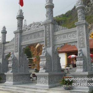 Cổng tam quan đá xanh đẹp nhất chất lượng cao giá rẻ thiết kế hiện đại