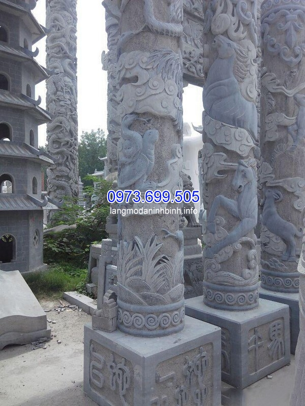 Cột đá biệt thự