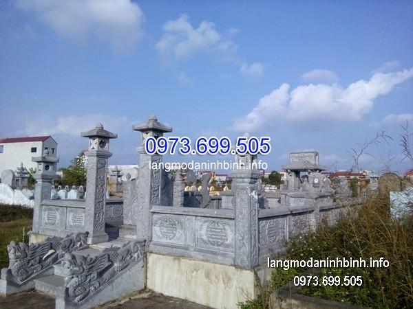 Cột đá xanh đẹp chạm khắc rồng giá tốt thiết kế hiện đại