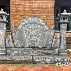 Cuốn thư đá chấn phong thủy đẹp nhất cho đình làng chất lượng tốt giá tốt