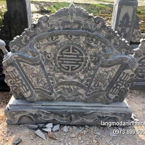Cuốn thư đá chấn phong thủy đẹp nhất cho đình làng chất lượng cao giá tốt