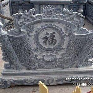 Cuốn thư đá chấn phong thủy đẹp nhất cho nhà thờ giá rẻ