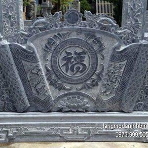 Mẫu cuốn thư đá chạm khắc tinh tế chất lượng tốt giá tốt