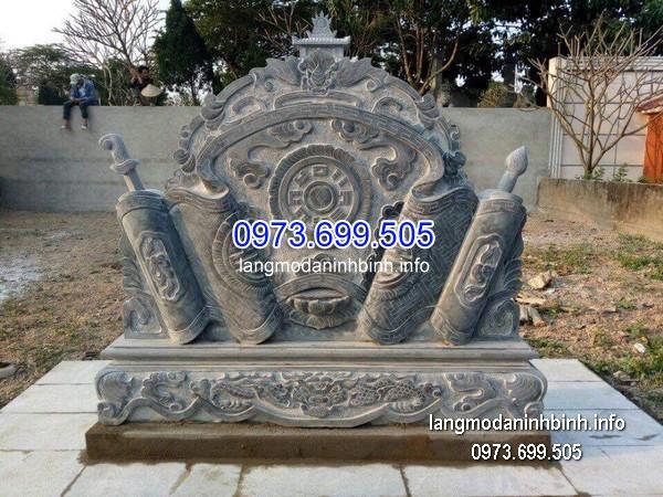Mẫu cuốn thư đá chạm khắc tinh tế chất lượng cao giá tốt