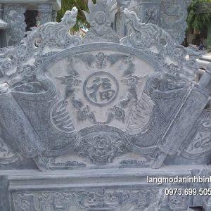 Mẫu cuốn thư đá chạm khắc tinh xảo chất lượng tốt giá tốt