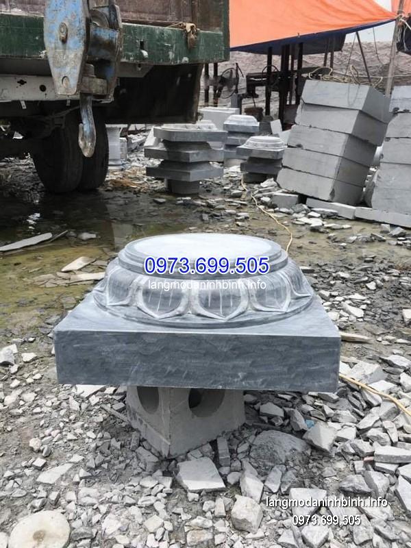 Chân tảng đá tròn đẹp nhất giá tốt chạm khắc thủ công