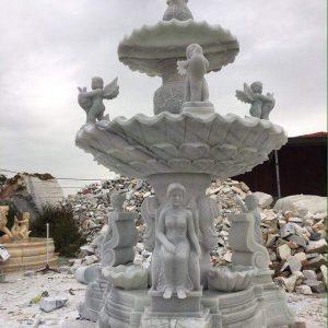 Đài phun nước bằng đá tự nhiên đẹp thiết kế cao cấp giá tốt