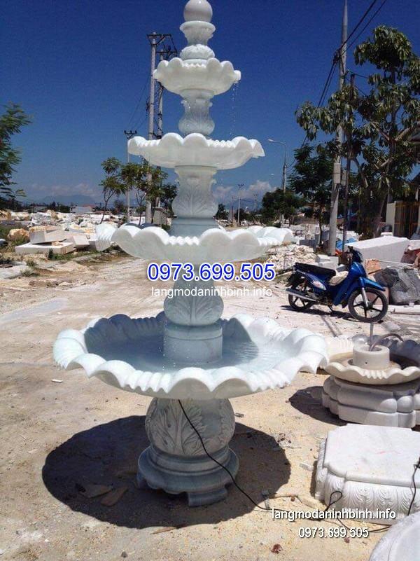 Đài phun nước bằng đá tự nhiên đẹp nhất chất lượng tốt giá rẻ