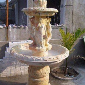 Đài phun nước bằng đá tự nhiên đẹp nhất thiết kế hiện đại giá tốt