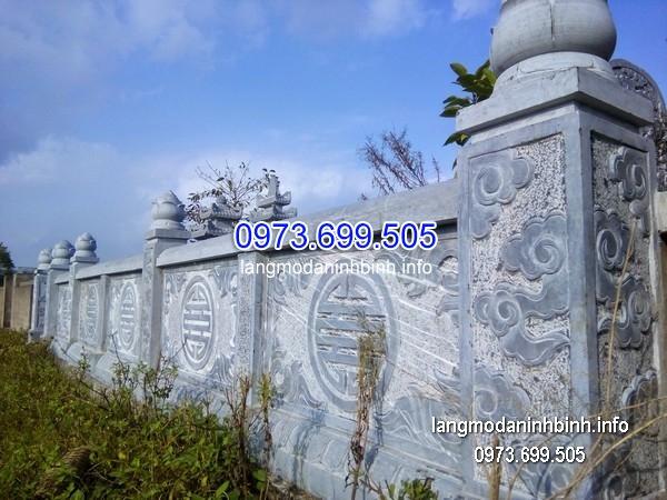Hàng rào đá xanh đẹp chất lượng cao giá tốt thiết kế cao cấp