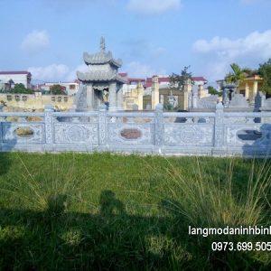 Hàng rào đá xanh đẹp chất lượng cao giá hợp lý thiết kế cao cấp