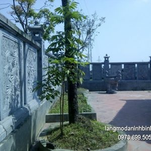 Hàng rào đá xanh đẹp chất lượng cao giá hợp lý thiết kế đơn giản