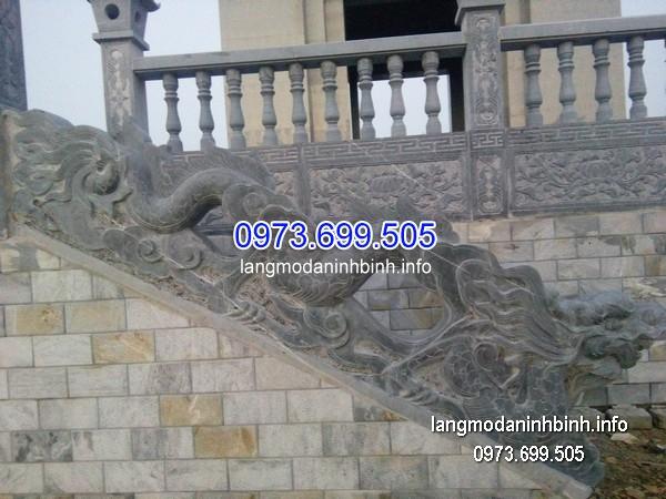 Hàng rào đá xanh đẹp chất lượng tốt giá rẻ thiết kế đơn giản