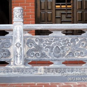 Hàng rào đá xanh đẹp chất lượng tốt giá tốt thiết kế cao cấp