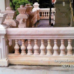 Hàng rào đá xanh đẹp chất lượng tốt giá hợp lý thiết kế hiện đại