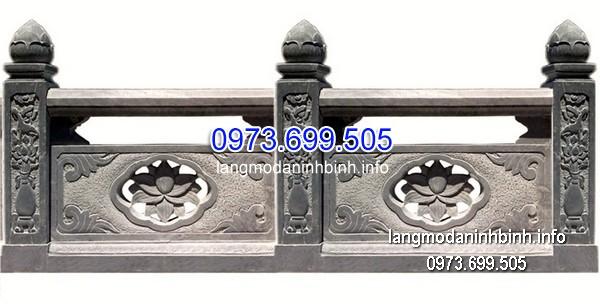 Hàng rào đá xanh đẹp chất lượng tốt giá hợp lý thiết kế cao cấp