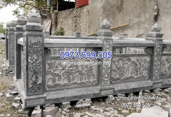 Hàng rào đá xanh đẹp nhất chất lượng cao giá rẻ thiết kế hiện đại