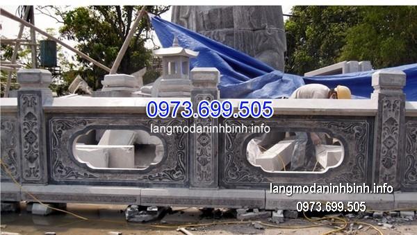 Hàng rào đá xanh đẹp nhất chất lượng cao giá rẻ thiết kế cao cấp