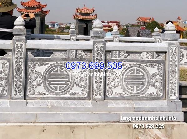 Hàng rào đá xanh đẹp nhất chất lượng cao giá rẻ thiết kế đơn giản
