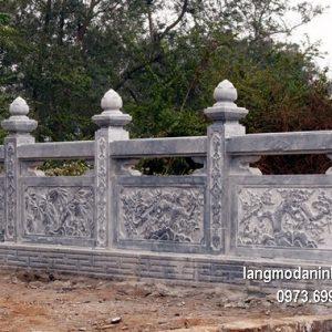 Hàng rào đá xanh đẹp nhất chất lượng cao giá tốt thiết kế cao cấp