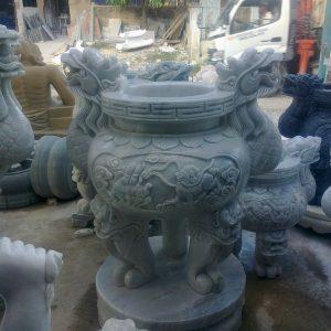 Lư hương đá đẹp nhất chất lượng cao giá hợp lý thiết kế cao cấp