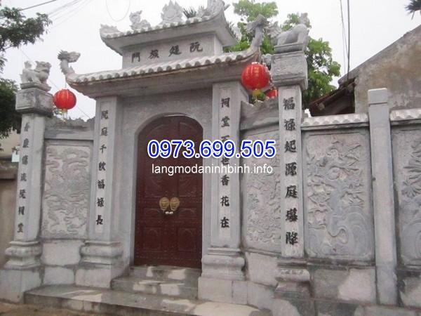 Top những mẫu cổng chùa bằng đá đẹp tại Việt Nam