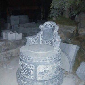 Mộ tròn đá tự nhiên hoa văn tinh tế chất lượng cao giá rẻ