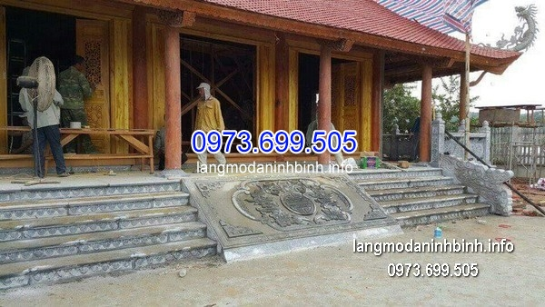 Nhà thờ họ bằng đá xanh đẹp chất lượng tốt giá rẻ thiết kế cao cấp