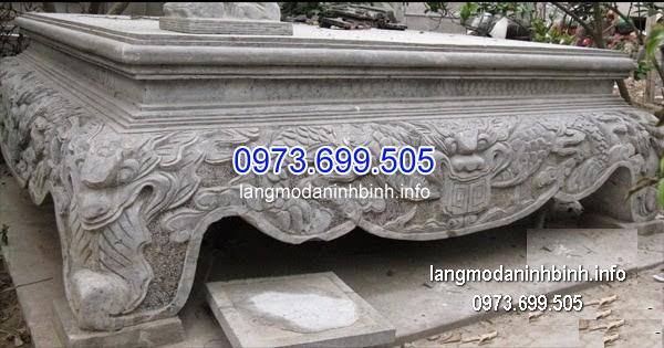 Sập đá khối đẹp nhất chất lượng cao giá rẻ