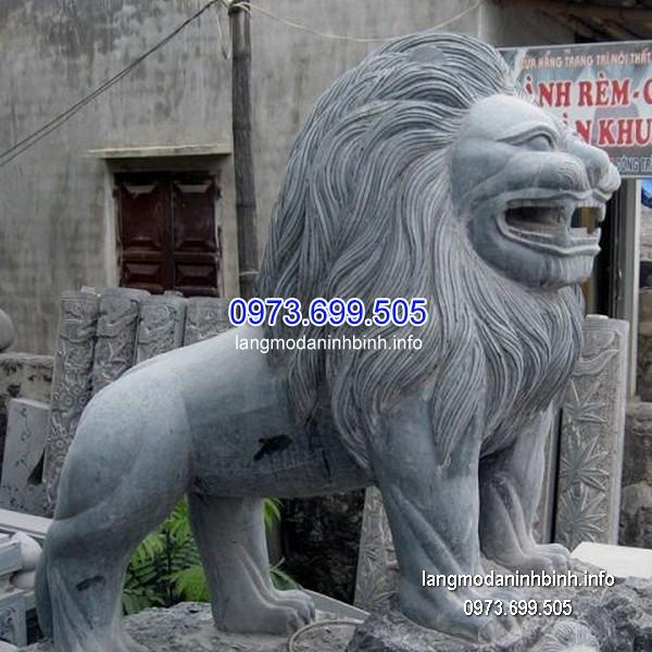 Sư tử đá phong thủy đẹp chất lượng cao giá rẻ