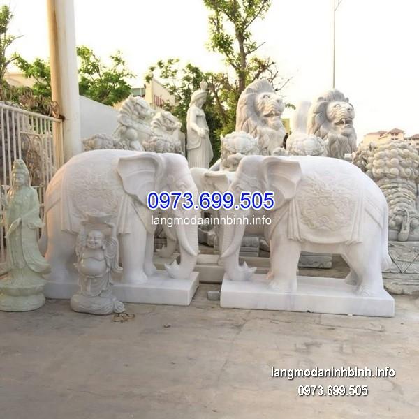 Tượng voi đá đẹp nhất chất lượng cao giá rẻ