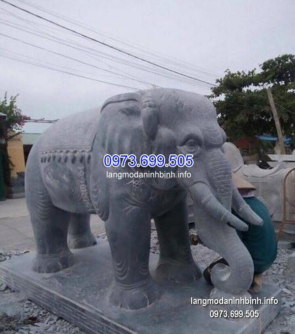 Tượng voi đá đẹp chất lượng cao giá tốt