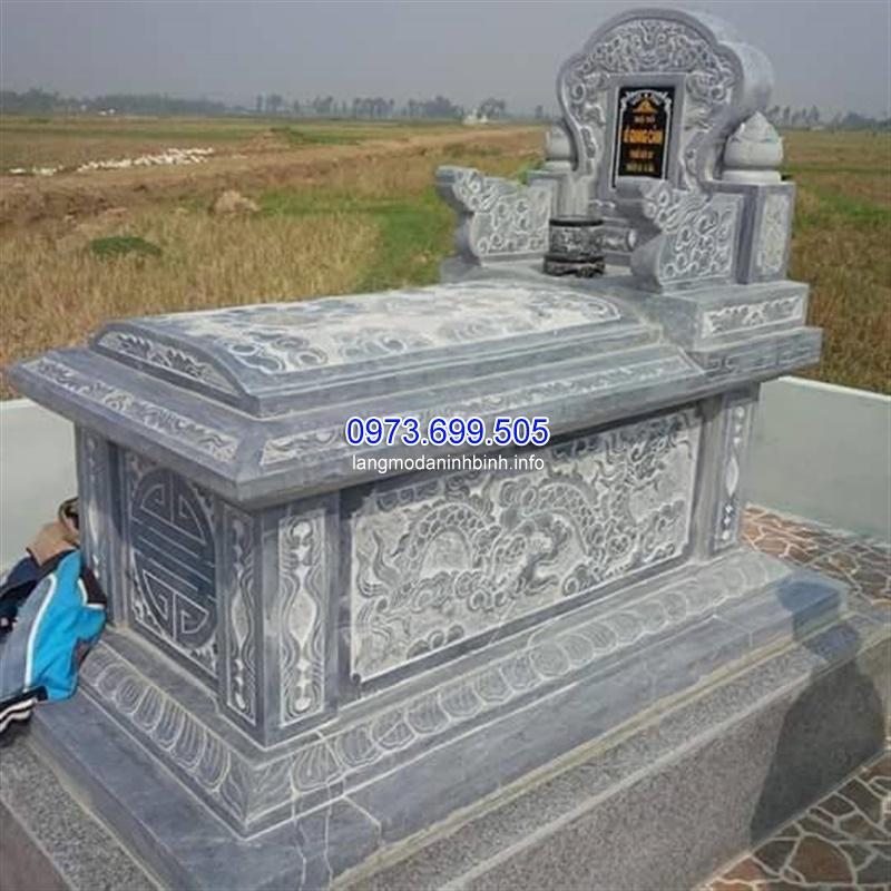 Mộ đá tam sơn cấu tạo và kích thước của mộ không mái