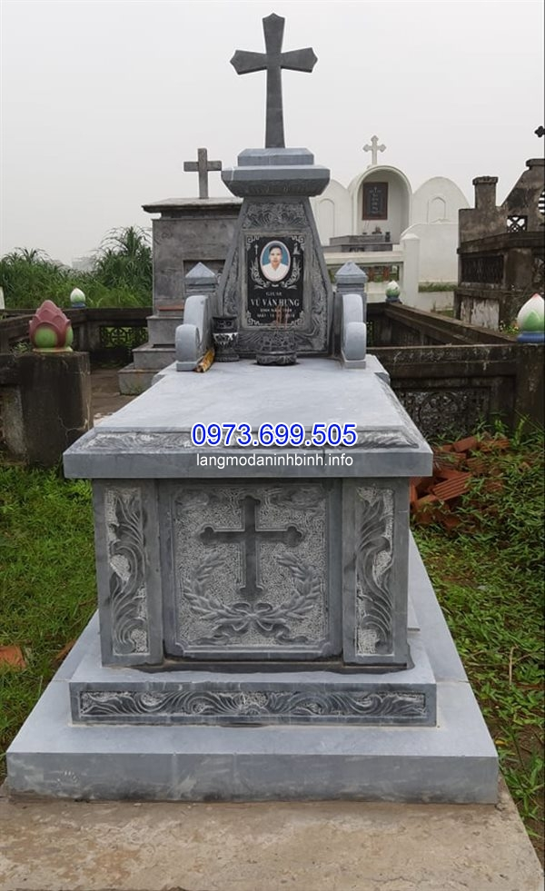 Địa chỉ bán mộ công giáo bằng đá đẹp chất lượng giá rẻ nhát hiện nay