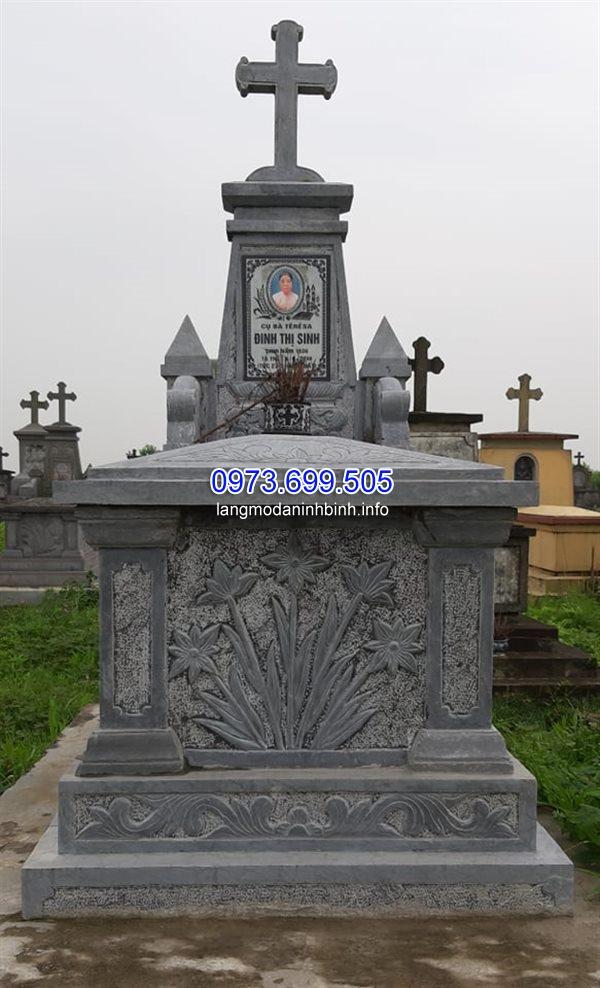 Kích thước mộ người công giáo