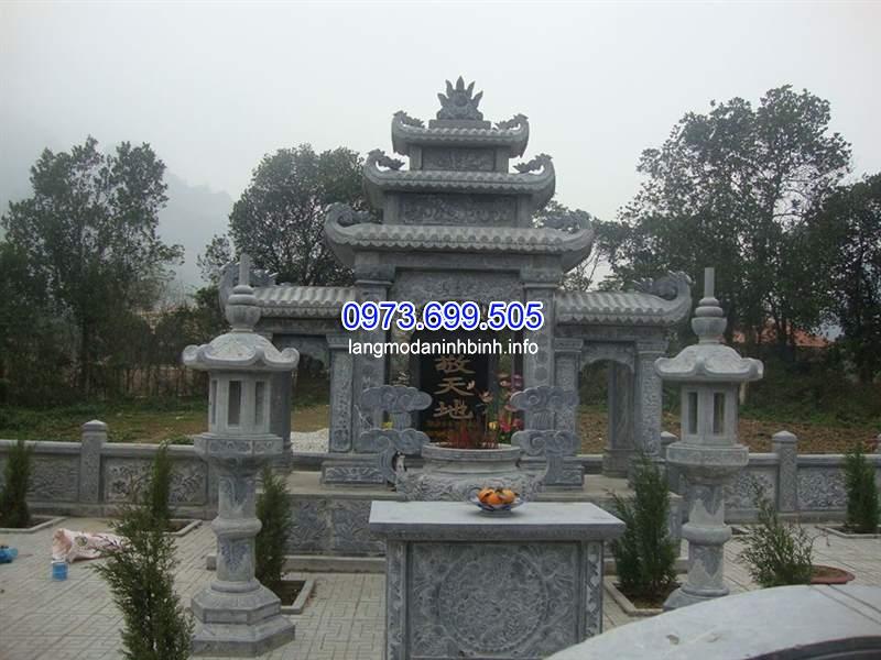 Lăng thờ đá giá rẻ uy tín chất lượng tại Ninh Bình