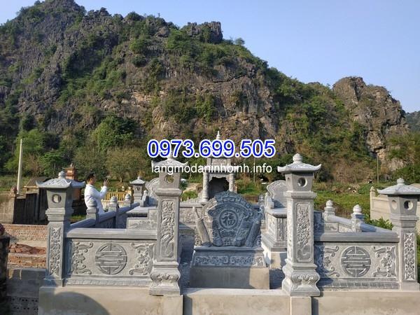 Hình ảnh khu lăng mộ đá đẹp
