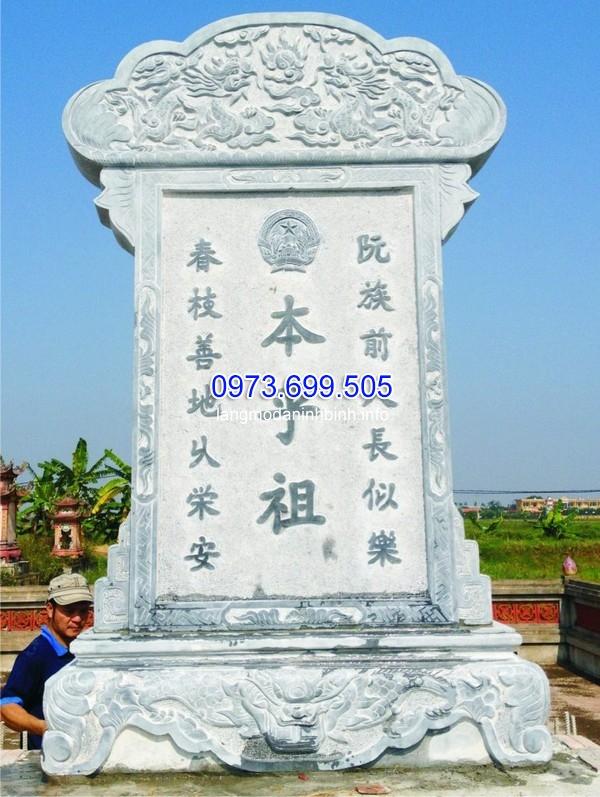Bia mộ đá tại nghĩa trang liệt sĩ